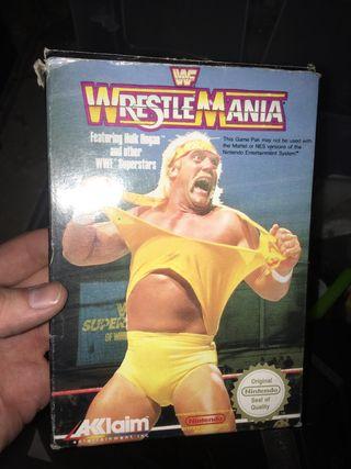 Caja Nes WrestleMania original