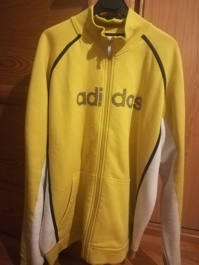 es bonito hoy márketing  Sudadera chaqueta sin capucha adidas de segunda mano por 25 € en Palencia  en WALLAPOP