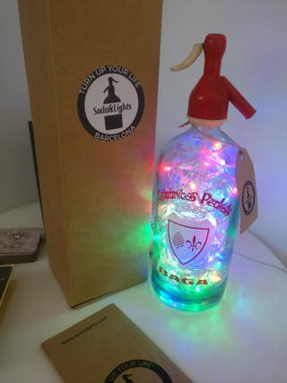 Lámpara LED Sifón Carbónicas Pedrals Vintage