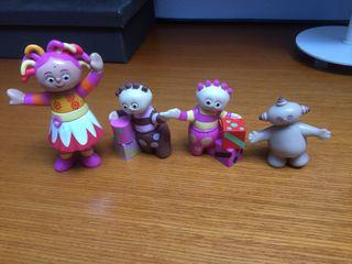 Muñecos pvc el jardín de los sueños