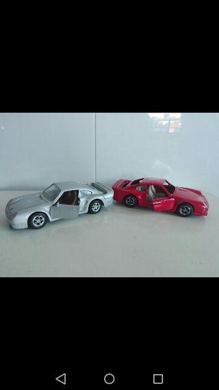 Porsche 959 maqueta