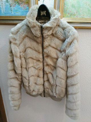 Abrigos piel sintetica el corte ingles