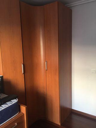 Habitación Juvenil niño niña color cerezo