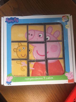 Puzzle 9cubos Peppa Pig
