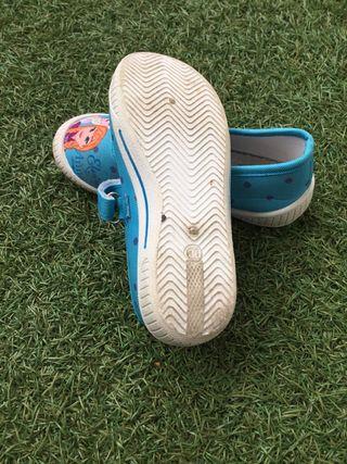 Zapatillas Frozen niña talla 30