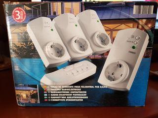conectores con control mando distancia