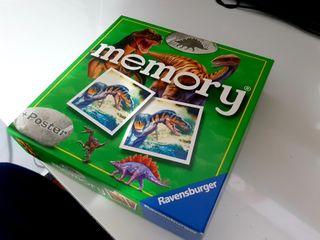 Memory, diseño dinosaurios