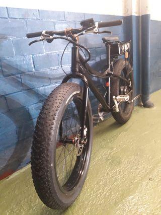 Fat bike eléctrica