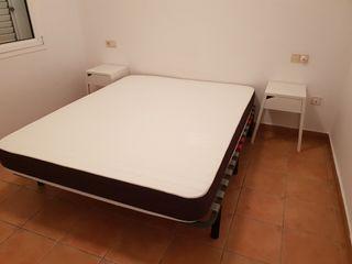 Somier + colchón visco de 150cms