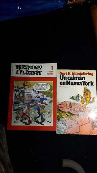 Libros cómics