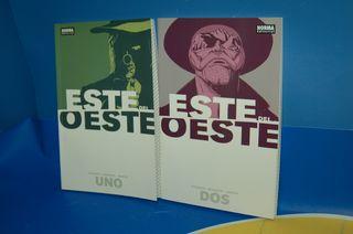 Comics 2 tomos ESTE DEL OESTE tomo 1 y 2 Image