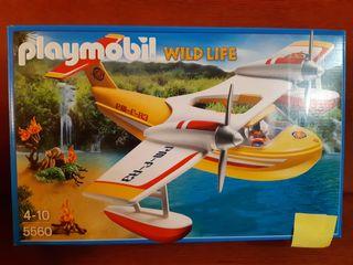 PLAYMOBIL 5560 WILD LIFE. HIDROAVION