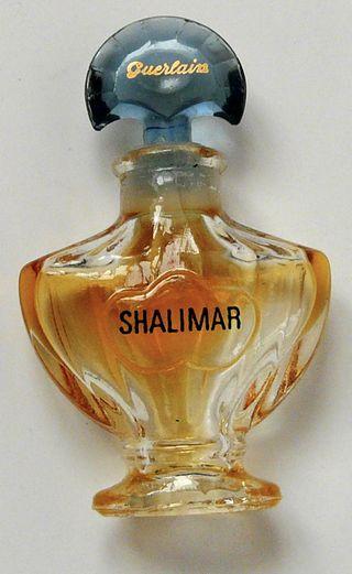 Miniature de Parfum vide Guerlain tout en verre