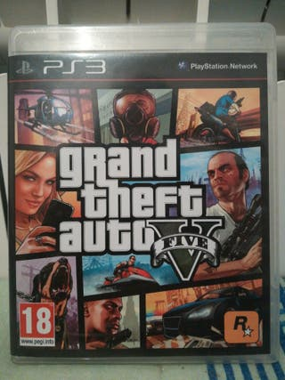 Grand Theft Auto V (GTA V) PS3