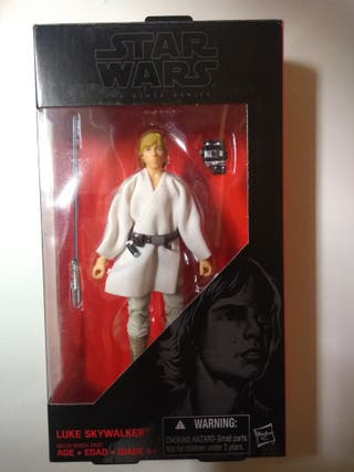 "figura star wars 6"" Black Series Luke Skywalker"