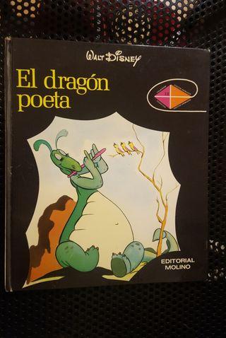 WALT DISNEY - EL DRAGÓN POETA - Ed. MOLINO -1973