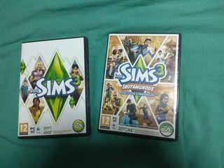 Juego PC Los Sims 3 + expansión