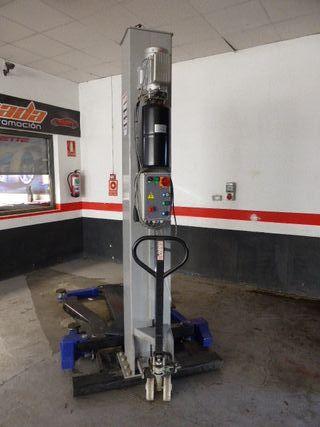 Elevador monocolumna Weber 2800KG