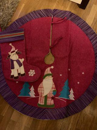 Pie árbol Navidad