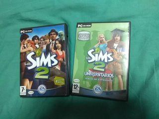 Juego PC Los Sims 2 + expansion
