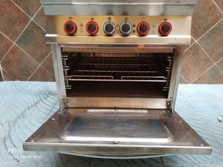 cocina de 4 fuegos con horno