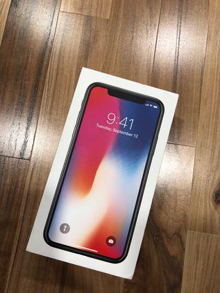 iPhone X 256Gb Nuevo. Entrega en Madrid capital
