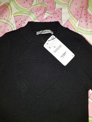 jersey escote pecho