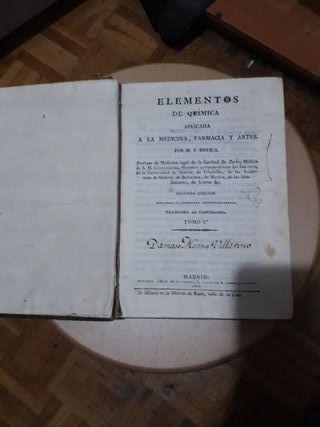 libro antiguo de 1822 en buen estado