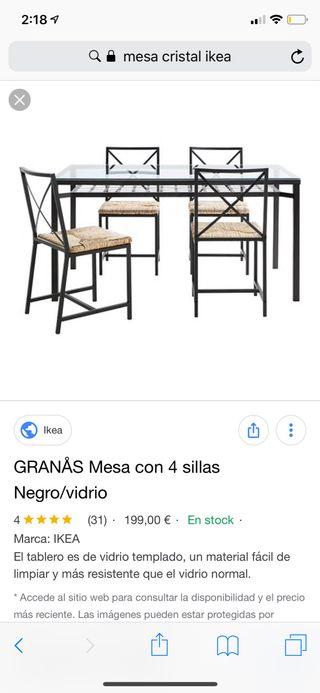 Sillas de comedor Ikea de segunda mano en Pinto en WALLAPOP