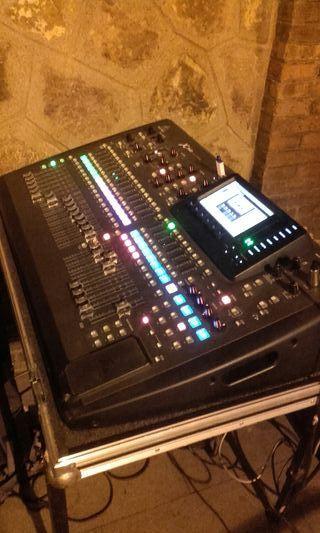 Alquiler equipo de sonido profesional. 6000w.