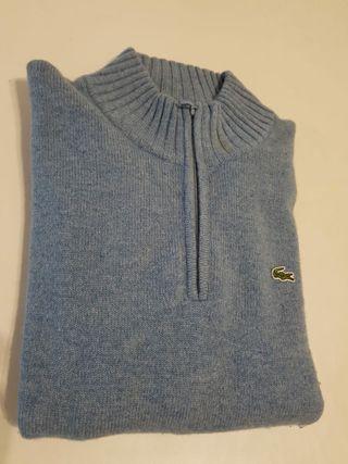 Jersey lana virgen LACOSTE