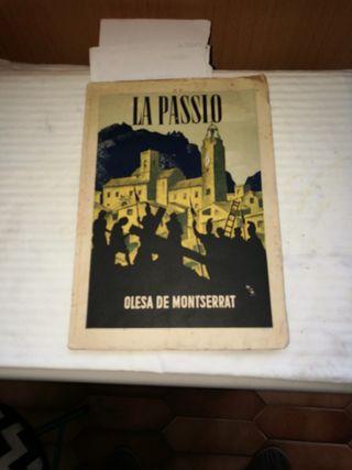 libro de la passio de 1954
