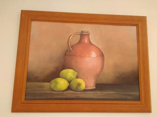 Pintura con marco 82*62cm