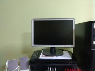 Pc sobremesa, Monitor, Impresora
