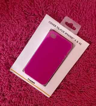 Funda Iphone 4&4S Rosa