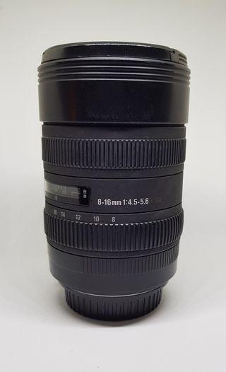 sigma 8-16 montura Canon