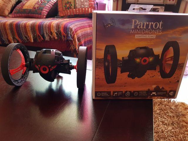 dron mini jumping parrot