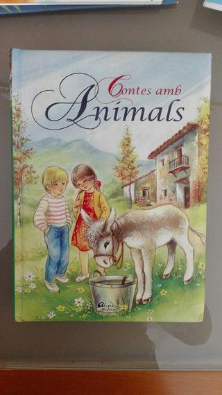 Llibre infantil. Contes amb animals