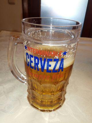 Jarra de cerveza para cerveza siempre helada