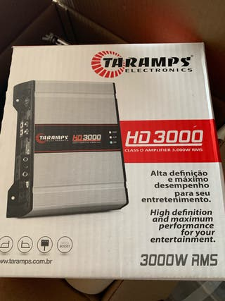 Taramps hd 3000 digital nueva