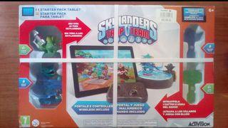 Starter pack Skylanders con figuras colección