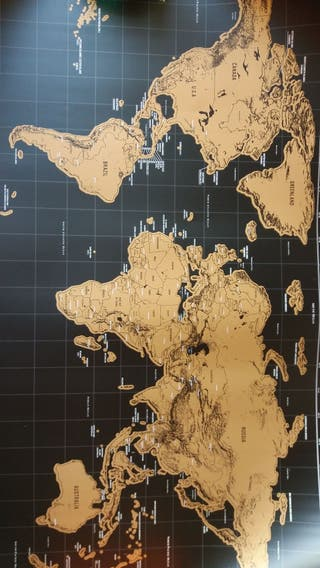 Mapa Mundi Rascable