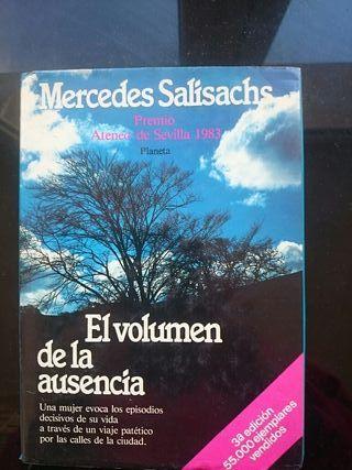 El volumen de la ausencia. Mercedes Salisachs.