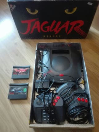 Consola Atari Jaguar De Segunda Mano En Wallapop