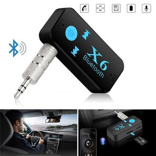 RECEPTOR BLUETOOTH REPRODUCTOR MP3 TF SD AUX COCHE