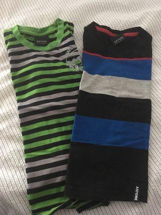 Lote de camisetas Astore T 6