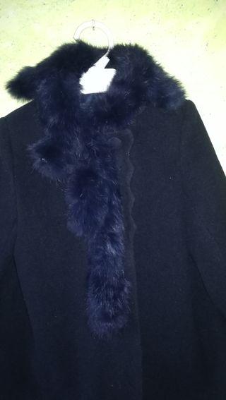 abrigo y capota niña