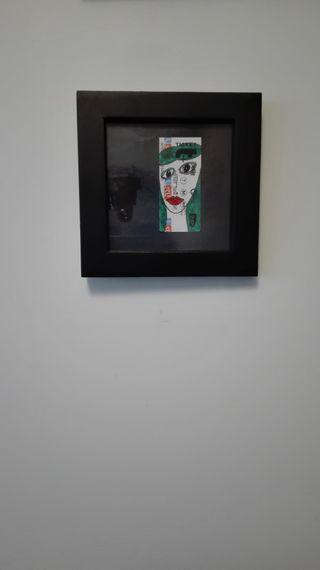"""Cadre création """"Parisien Portrait"""""""