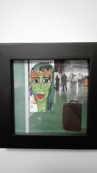 """Cadre création """"Parisian Portrait"""""""
