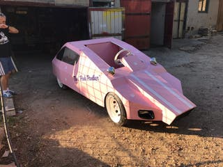 Auto Loco Pantera Rosa 2018